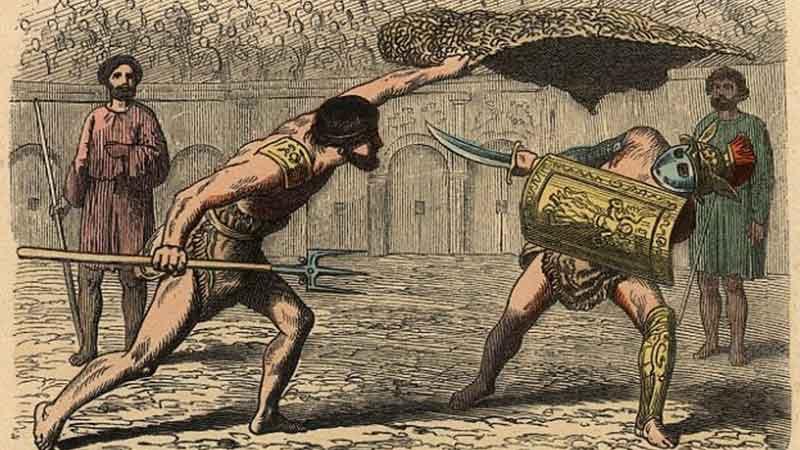 โรมัน…มังสวิรัติ นักสู้แกลดิเอเตอร์